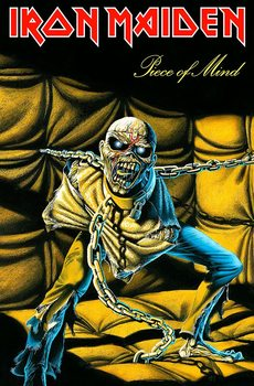 Poster textile Iron Maiden – Piece Of Mind