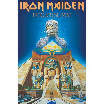 Poster textile Iron Maiden - Powerslave