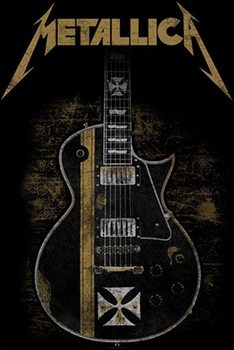 Poster textile  Metallica – Hetfield Guitar
