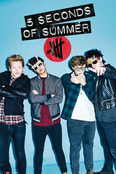 Póster  5 Seconds Of Summer - Glasses