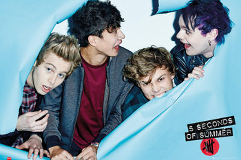 Póster  5 Seconds Of Summer - Rip