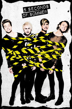 Poster 5 Seconds Of Summer - Tape