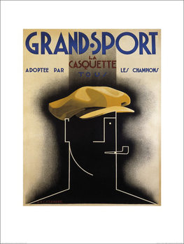 A.M. Cassandre - Grand Sport, 1925 Kunstdruk