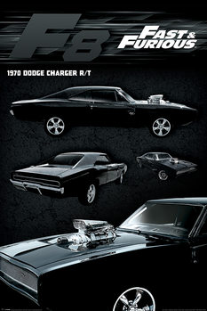 Póster A todo gas - Dodge Charger