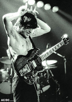 AC/DC - Angus Young Young Poster