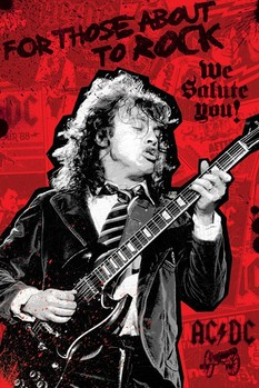 Póster AC/DC - for those about to Rock