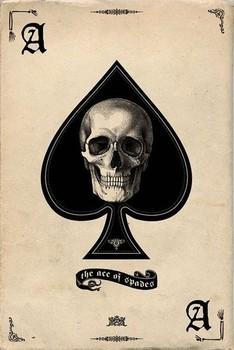 Ace of Spades Poster / Kunst Poster