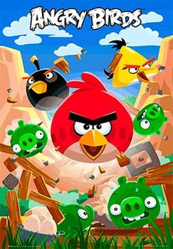Angry birds - smash Poster 3D