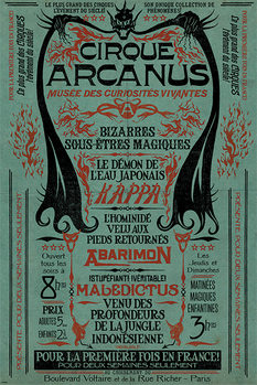 Poster  Animali fantastici: I crimini di Grindelwald - Le Cirque Arcanus