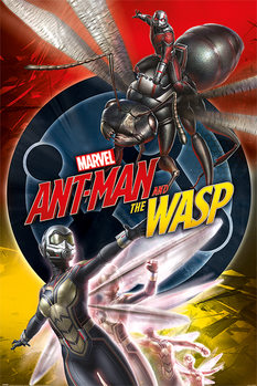 Póster  Ant-Man and The Wasp - Unite