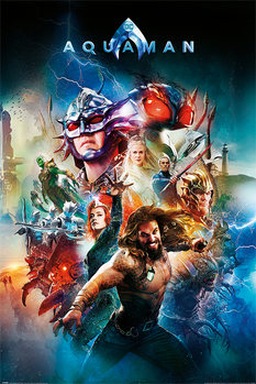 Póster Aquaman - Battle For Atlantis