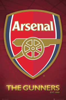 Poster Arsenal - club crest 2013