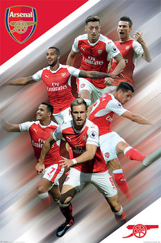 Póster  Arsenal FC - Players 16/17