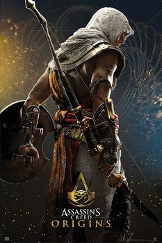 Póster  Assassin's Creed - Origins Hero