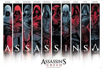 Poster Assassin's Creed - Assassins