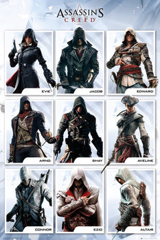 Póster Assassin's Creed Compilation