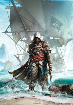 Poster  Assassin´s Creed - Edward Debarquant