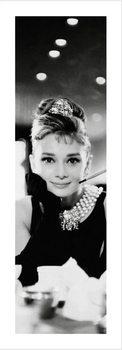 Audrey Hepburn - B&W Kunstdruk