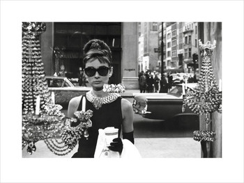 Audrey Hepburn - Window Kunstdruk