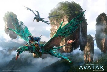 Poster  Avatar limited ed. - flying