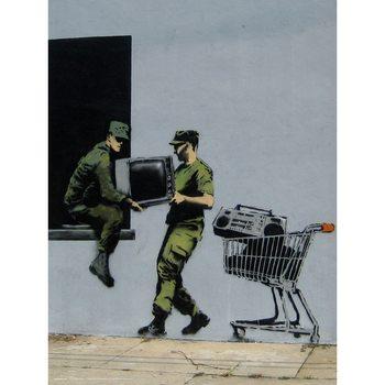 Banksy - Looters Masters Kunstdruk