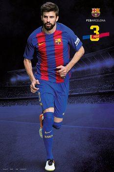 Barcelona 2016/2017 - Gerard Piqué Poster