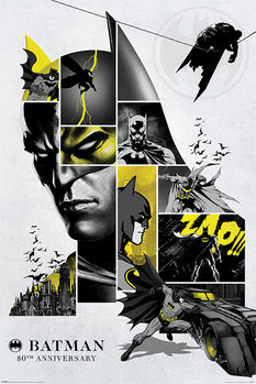 Póster  Batman - 80th Anniversary