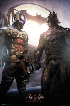 Batman Arkham Knight - Arkham Knight and Batman poster, Immagini, Foto