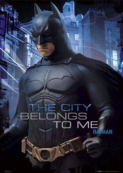 Poster BATMAN BEGINS - characters
