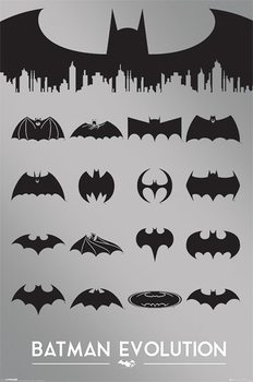 Poster Batman - evoluzione