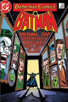 BATMAN - rogues gallery Poster / Kunst Poster