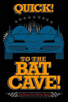 Póster Batman - To The Bat Cave