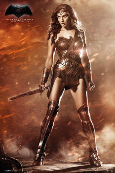 Póster  Batman v Superman: Dawn of Justice - Wonder Woman