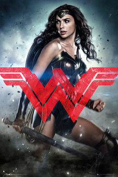Póster Batman v Superman: Dawn of Justice - Wonder Woman Solo