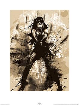 Batman V Superman - Wonder Woman Art Kunstdruk