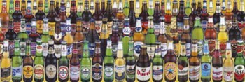 Poster Beers of the world 2