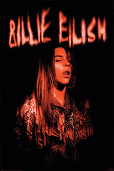 Póster Billie Eilish - Sparks
