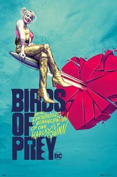 Poster Birds of Prey: e la fantasmagorica rinascita di Harley Quinn - Broken Heart