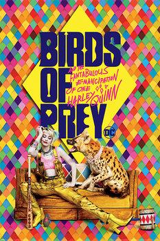 Poster Birds of Prey: e la fantasmagorica rinascita di Harley Quinn - Harley's Hyena