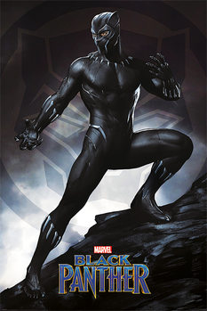 Poster  Black Panther - Stance