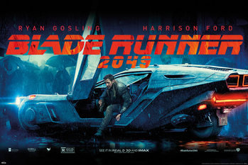 Blade Runner 2049 - Flying Car Poster