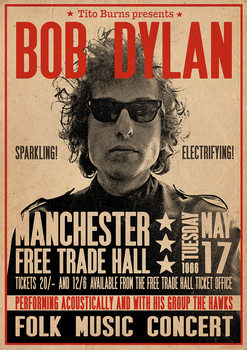 Póster  Bob Dylan - Poster