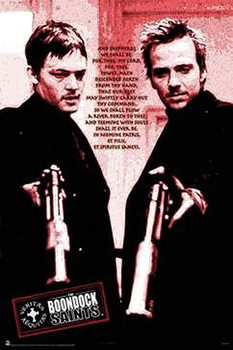 Poster Boondock Saints - Red Poem