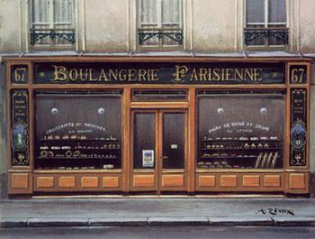Boulangerie Parisienne Kunstdruk