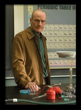 BREAKING BAD - teacher ingelijste poster met glas