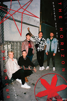 Póster Bring Me The Horizon - Red Eye
