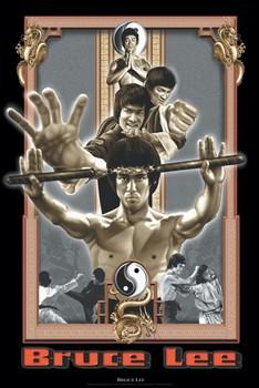 Póster Bruce Lee - dragon's fury