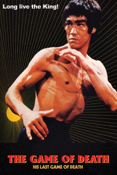 Póster  Bruce Lee - game of death/sun