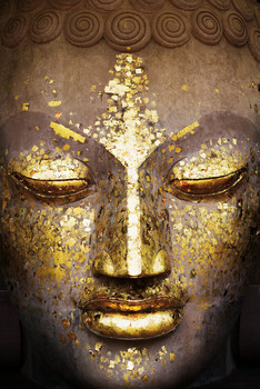 Buddha - face Poster / Kunst Poster