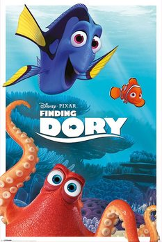 Póster Buscando a Dory - Characters